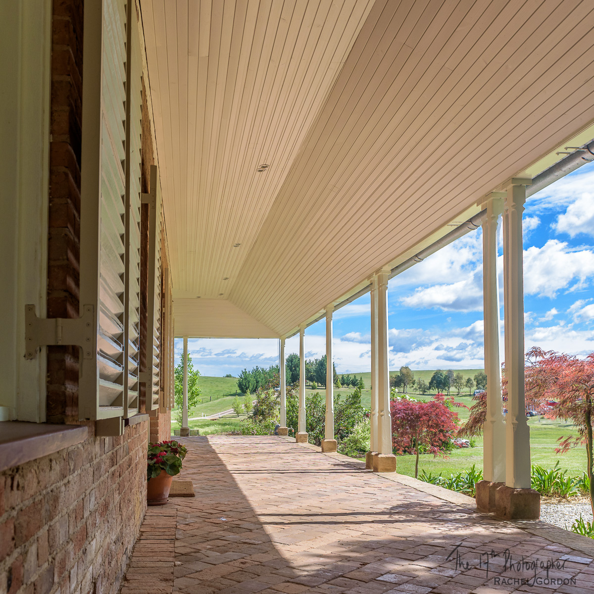 Australian farm house verandah