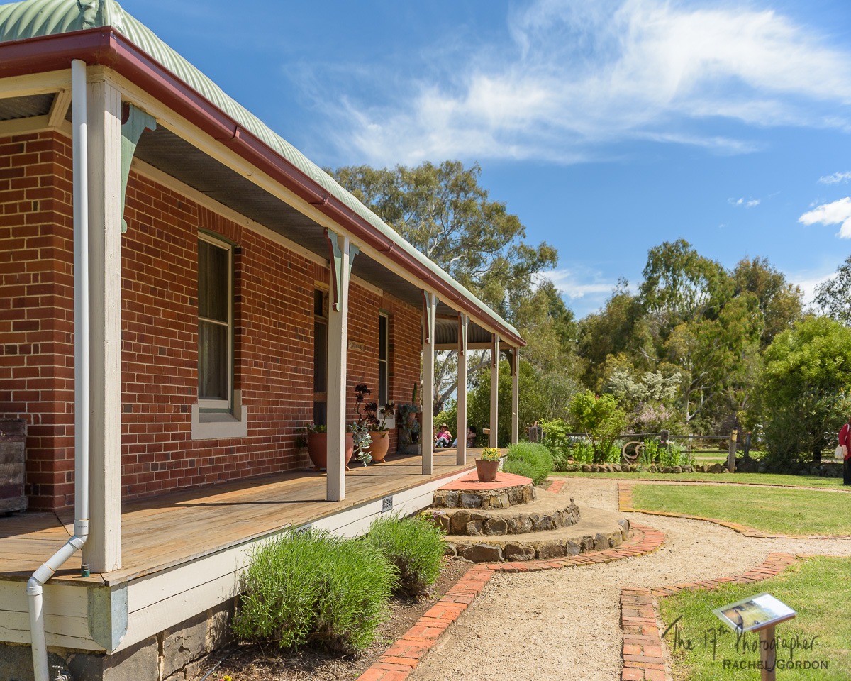 Australian farm house
